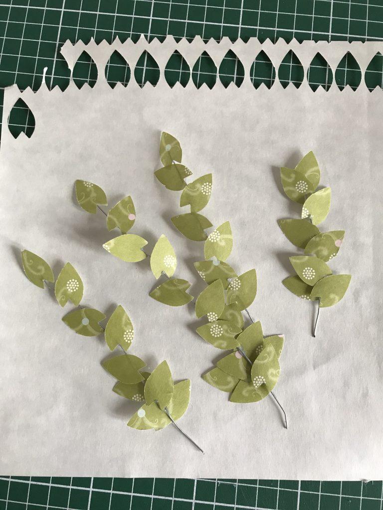 plantes en papier diy