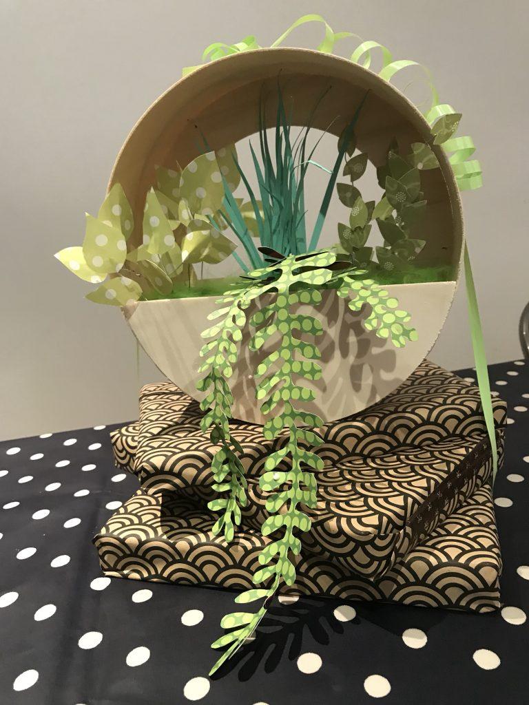 Fausses plantes murales