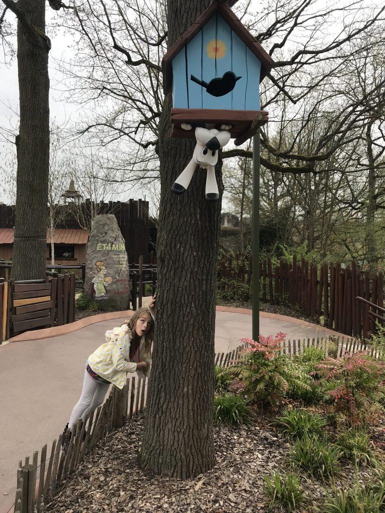 nichoir parc astérix