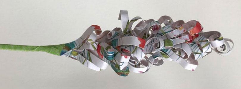 jacinthe en papier