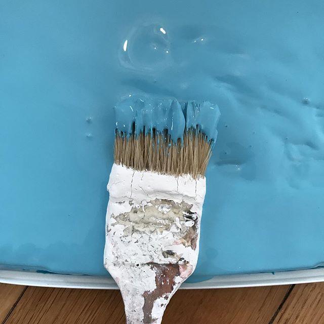 La chambre de Siloë prend des couleurs #cilounewhome #turquoise