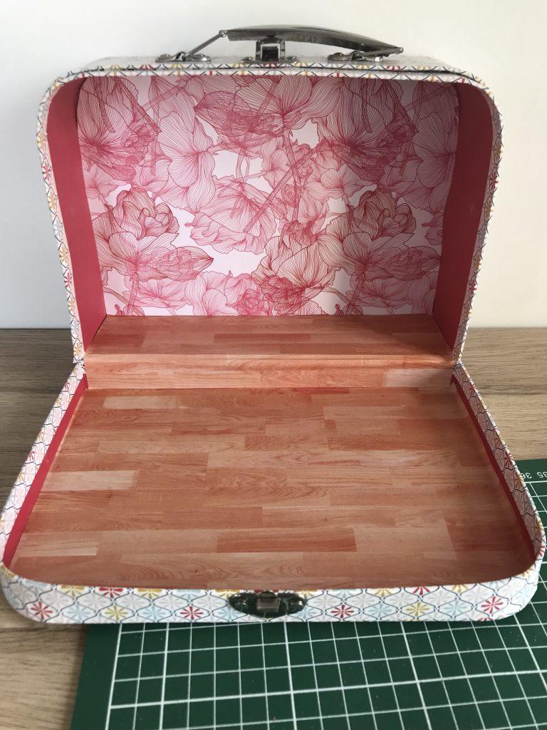 Maison de poupée - Habillage de la valise