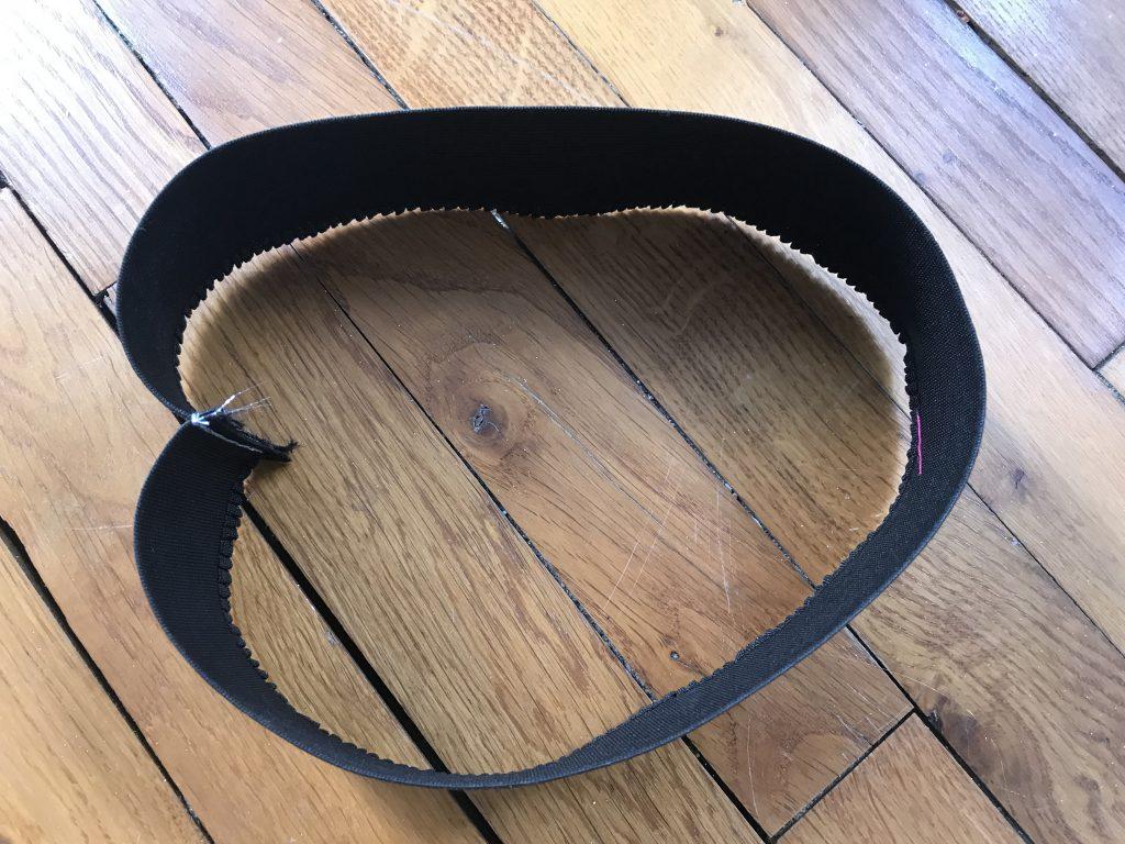 Tutu lumineux - Couture ceinture