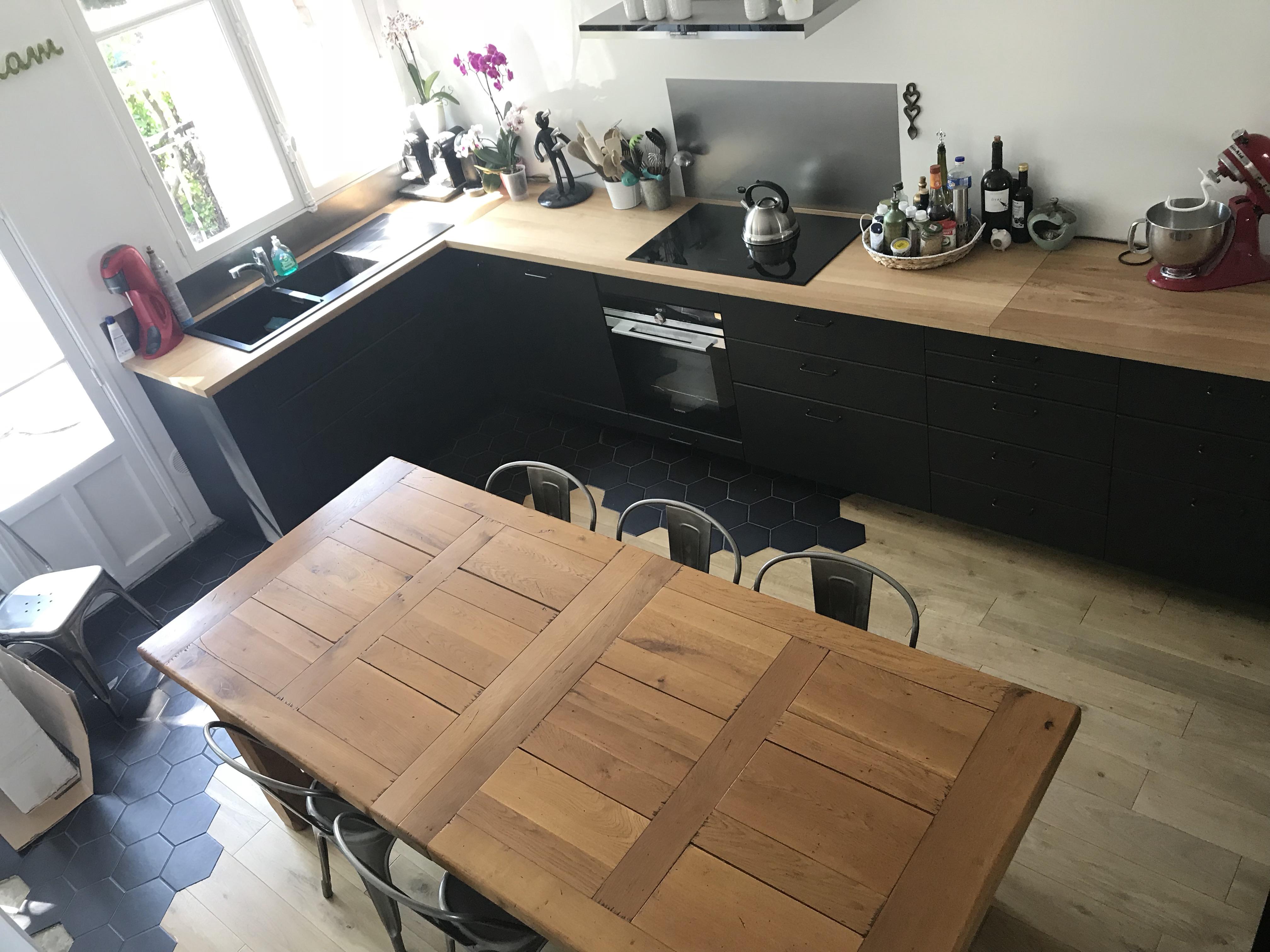 Fond De Hotte Verre Ikea installation de la cuisine : le montage #2 - ciloubidouille