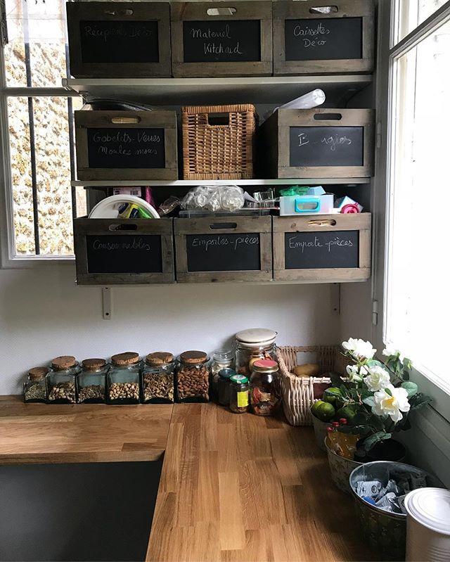 Arrière-cuisine en ligne sur mon blog :). Fin du teasing ! Place à la découverte de cette pièce que j'adore, si ça vous intéresse :) #ciloubidouille #arrierecuisine #cuisineikea #cuisine #diy #decorationideas