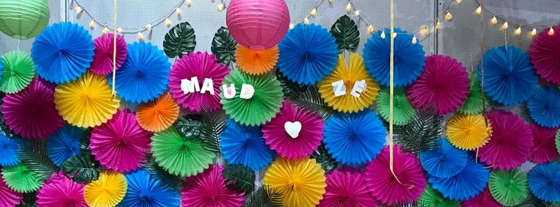 décoration de mariage photobooth