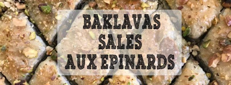 recette baklavas salés