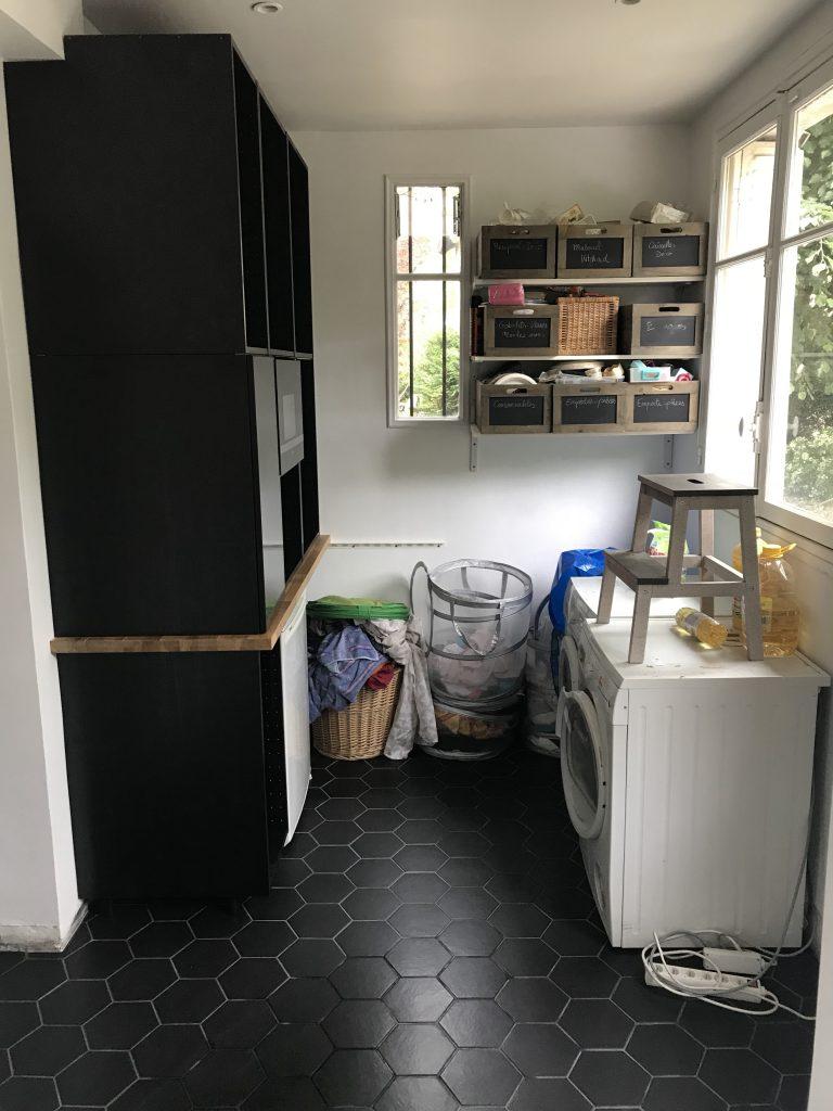 Arrière-cuisine - première étape