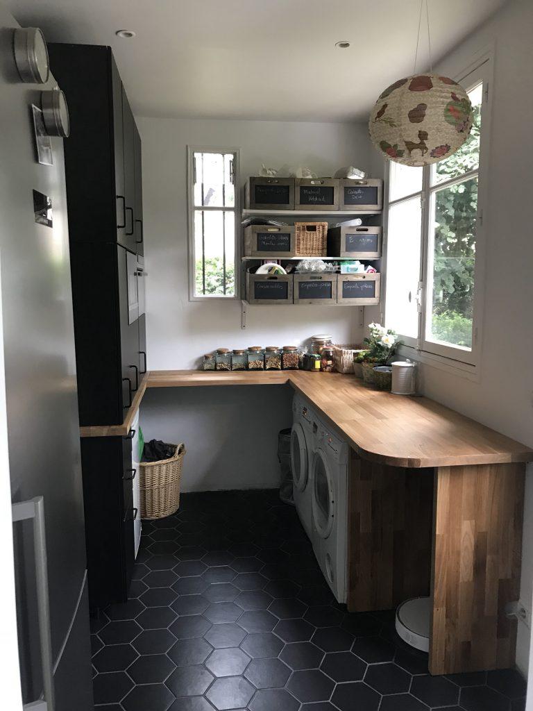 Arrière-cuisine - travaux finis