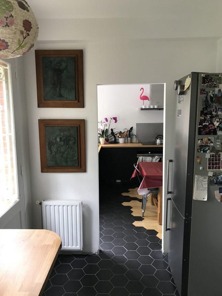 Arrière-cuisine - Après les travaux