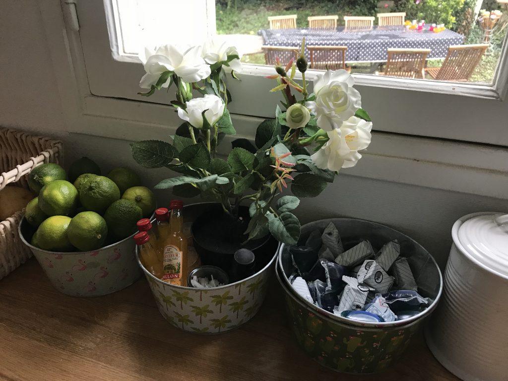 Arrière-cuisine - décoration