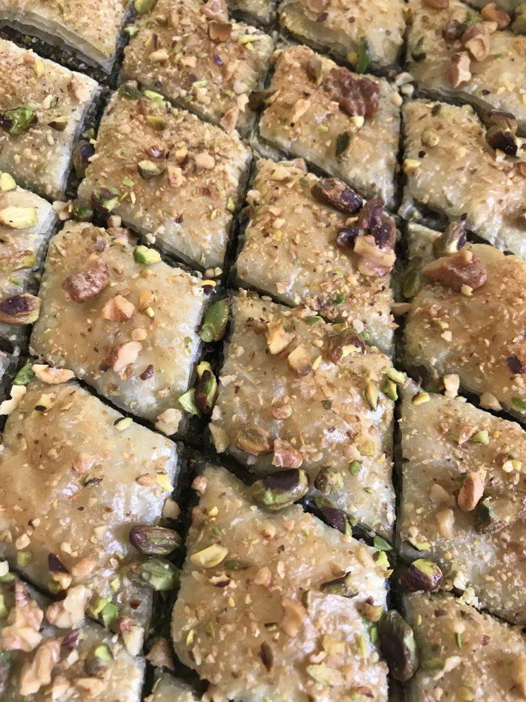 baklavas salés - recette étonnante