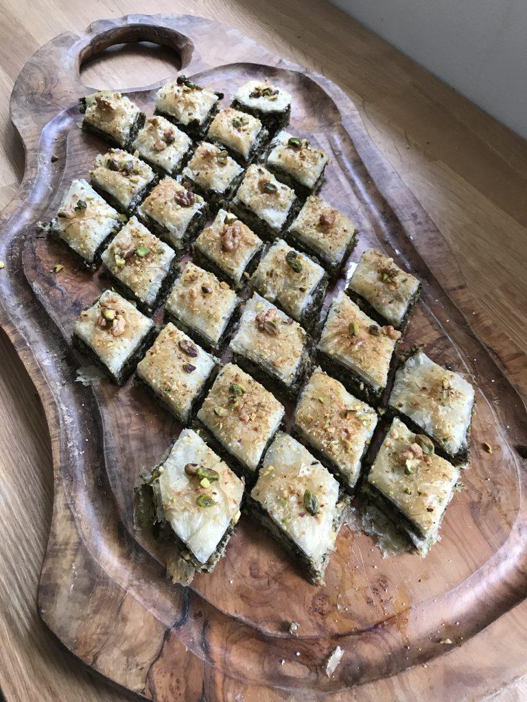baklavas salés - recette