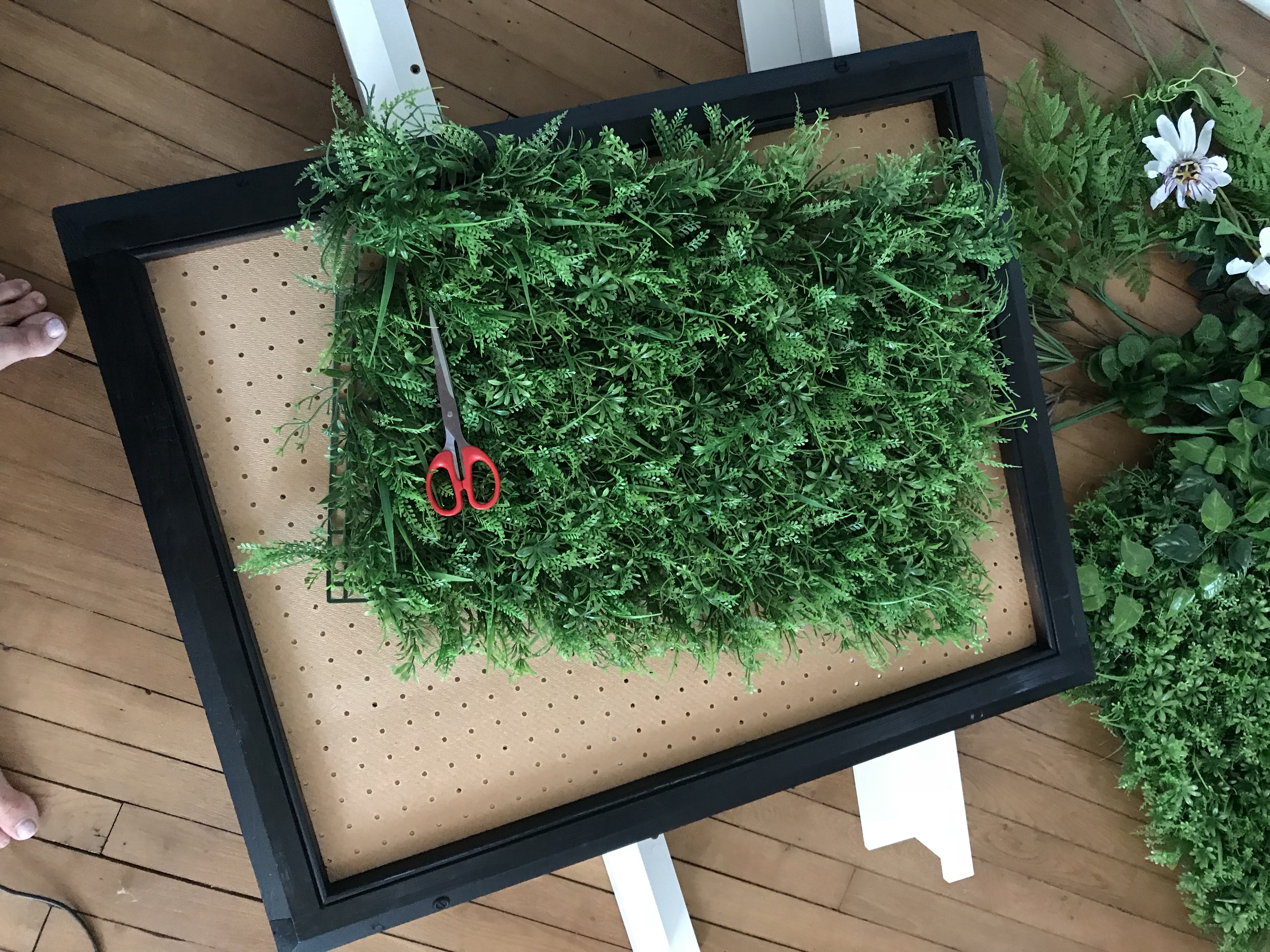 tableau végétal - DIY