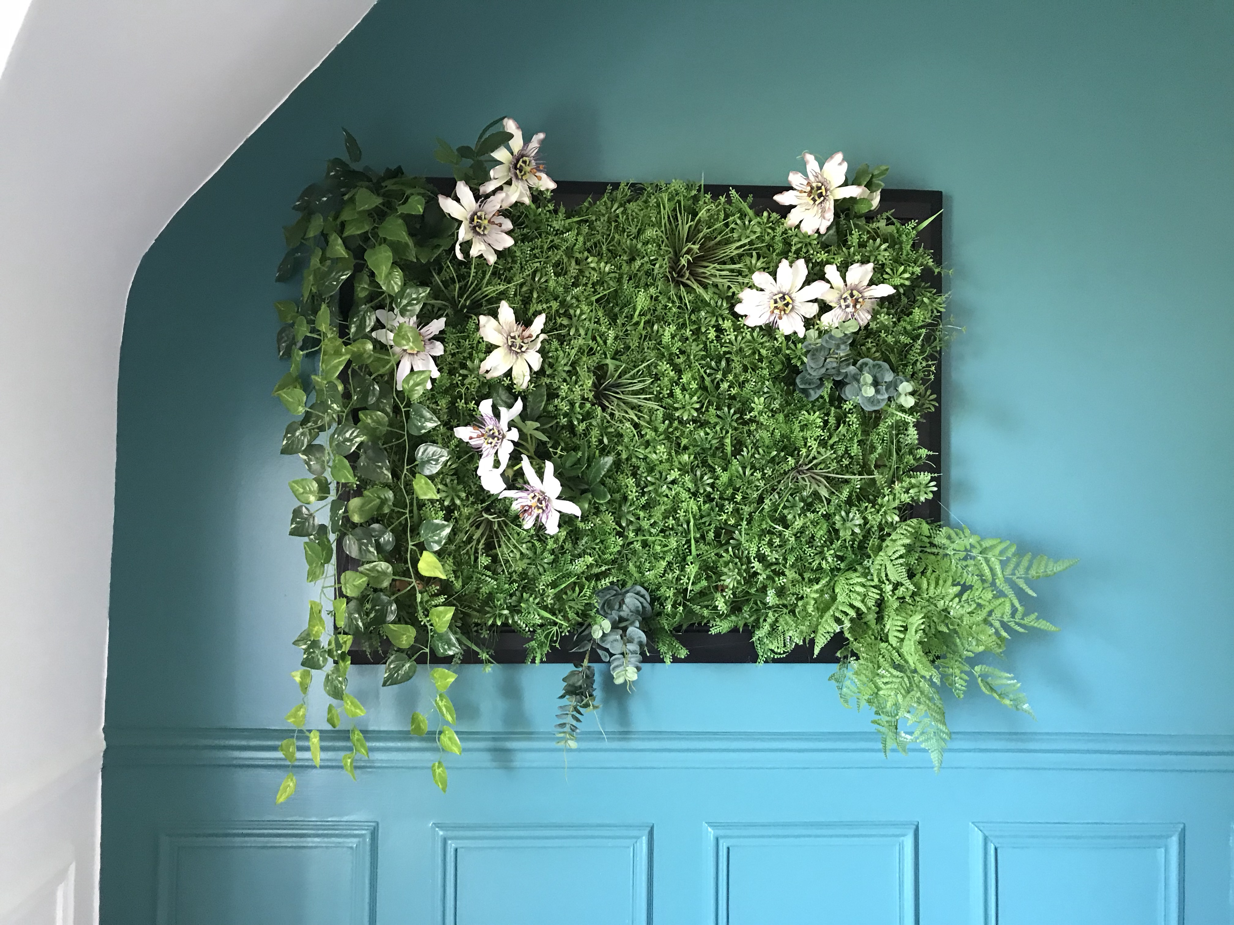 tableau végétal - DIY réaliser son cadre végétal
