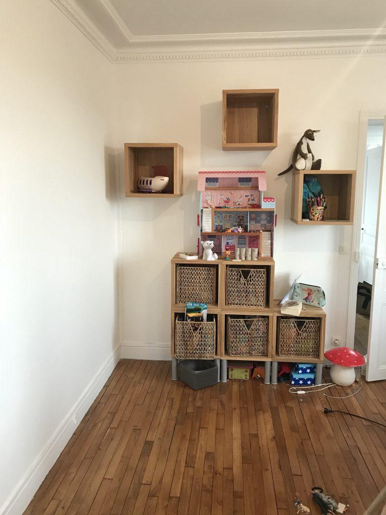 chambre denfant créatif - Montage des meubles