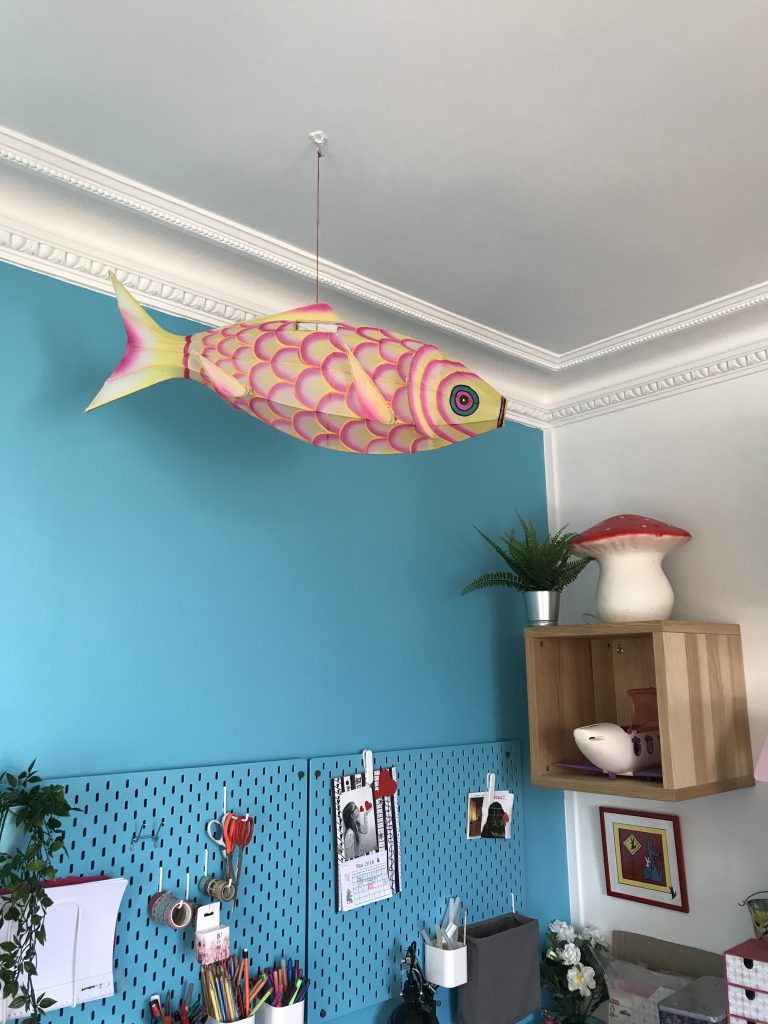 Chambre d'enfant créatif - poisson petit pan