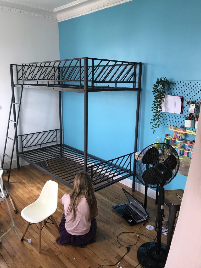 Chambre d'enfant créatif - lit superposé
