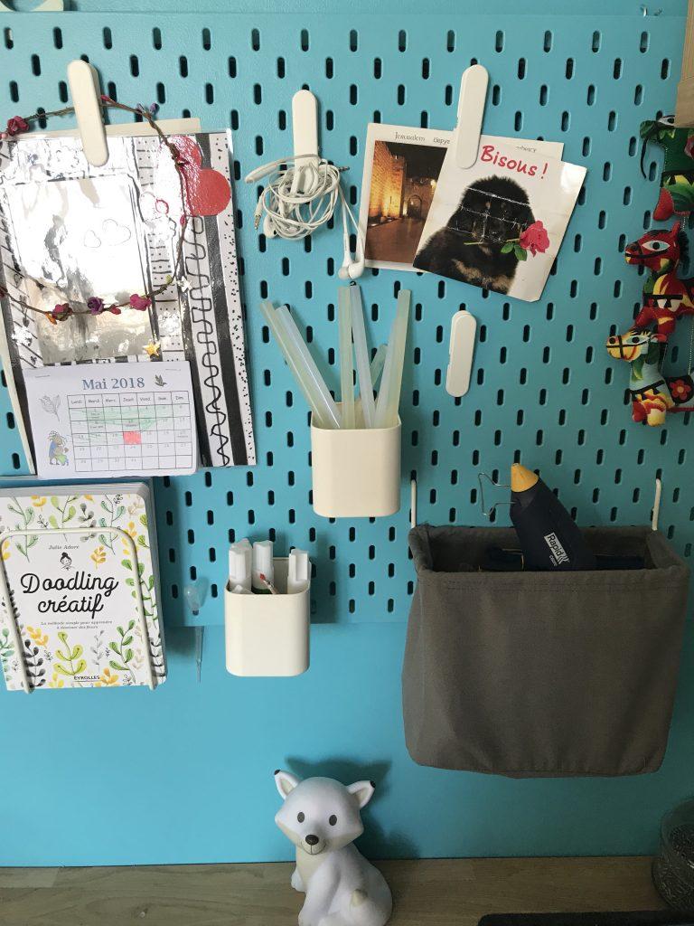 Chambre d'enfant créatif - atelier créatif
