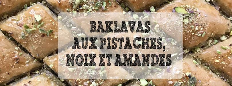 recette de baklavas