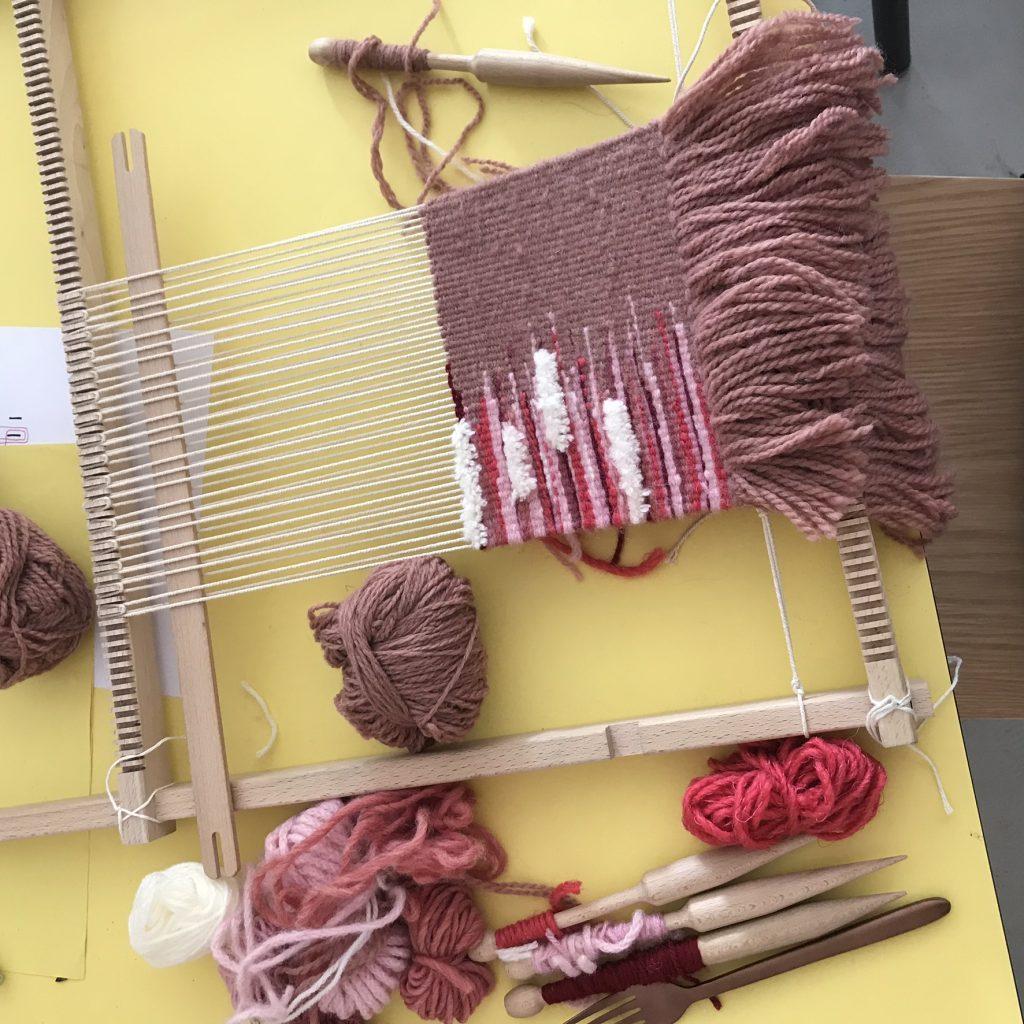 Ateliers créatifis tissage tapisserie