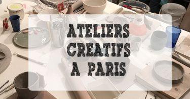ateliers créatifs paris
