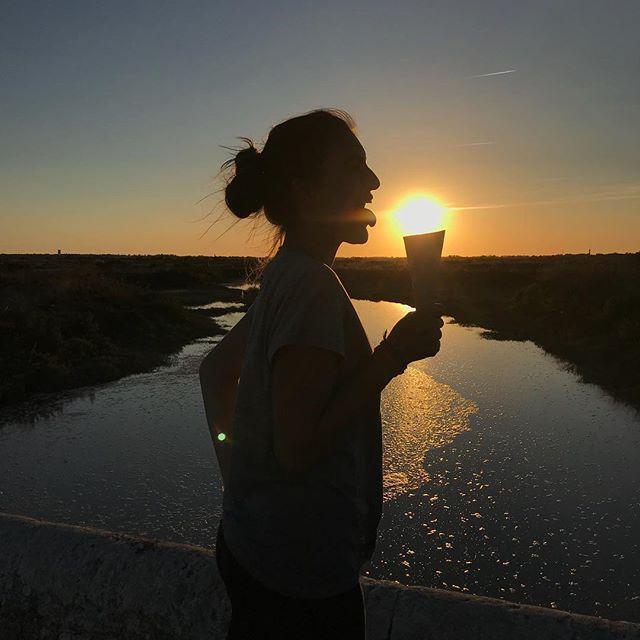 On a pris le soleil aujourd'hui ! Et on a bien rigolé avec :) #photography #contrejour