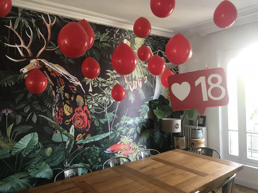 anniversaire de 18 ans - pinata DIY