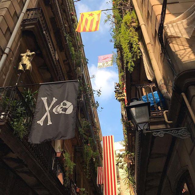 Bye-bye Barcelone. A très vite petite soeur, petite nièce. Que la joie de ces quelques jours nous accompagne longtemps :) #barcelona #barcelone
