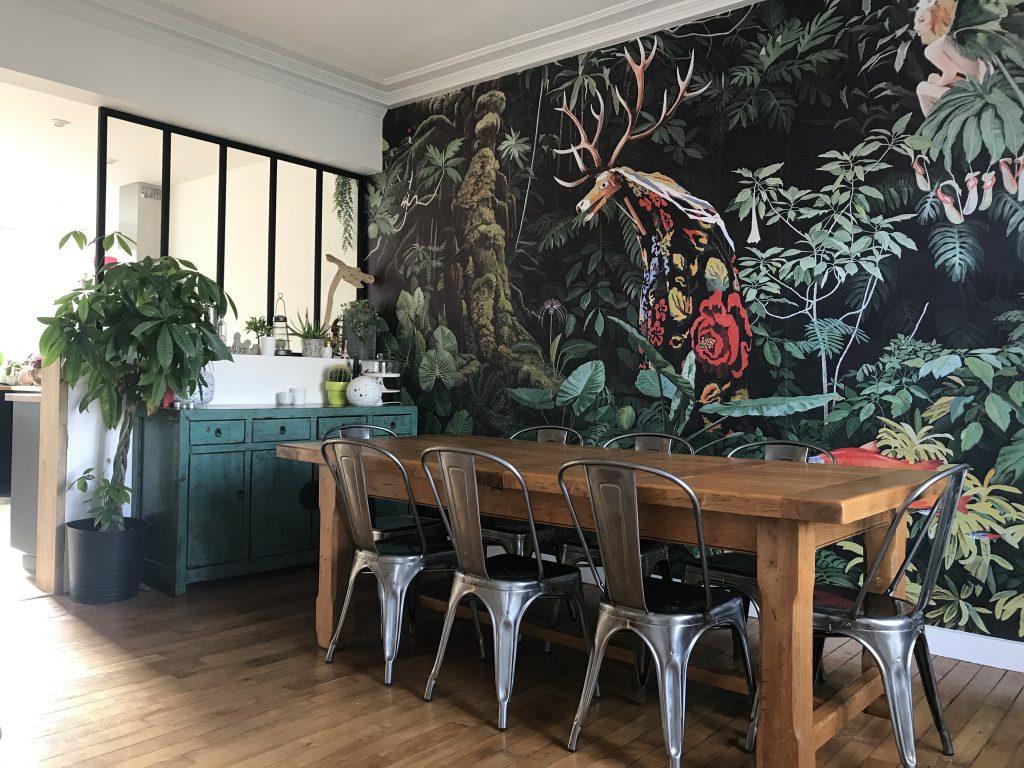décoration de salle à manger - Papier peint original