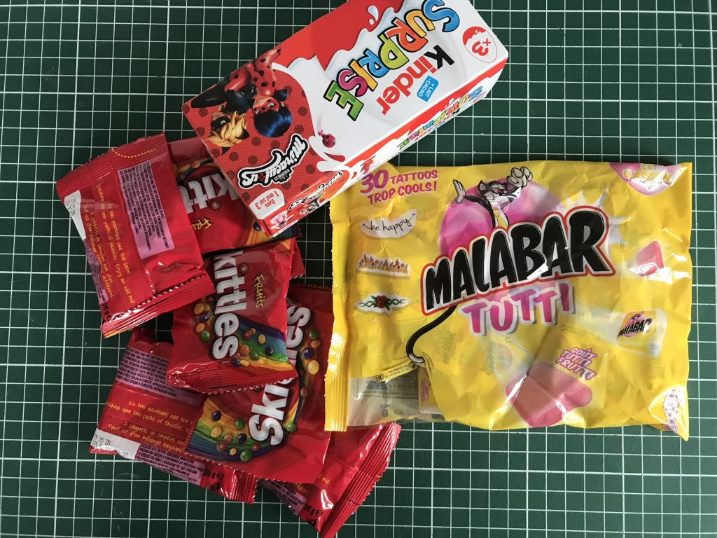 Bonbons malabar kinder skittles
