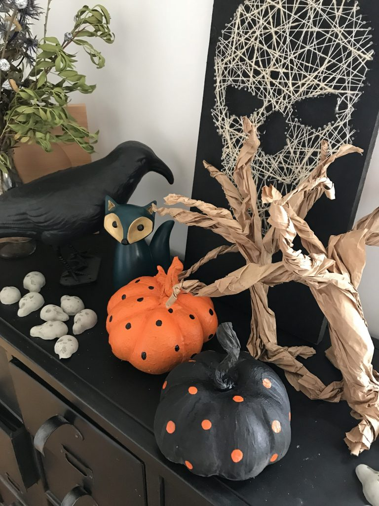 Décoration d'Halloween