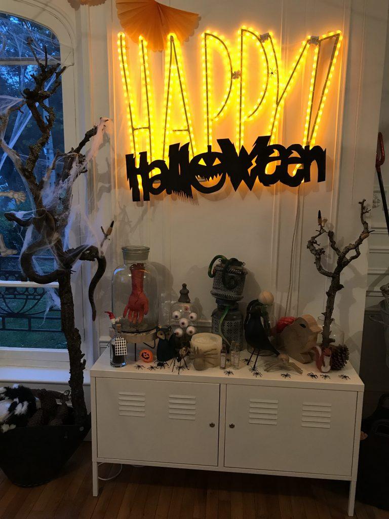idées décoration d'Halloween