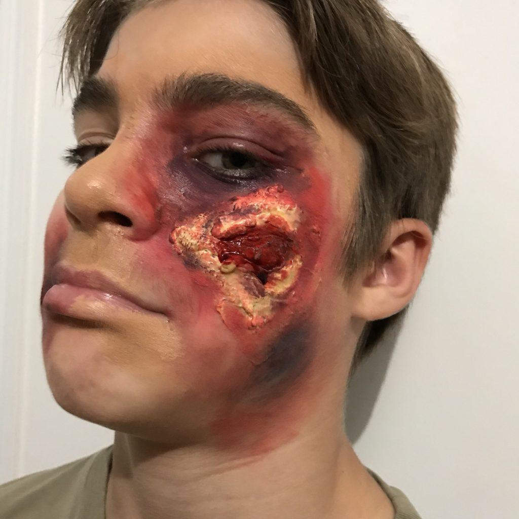 Décoration d'Halloween - fausse blessure