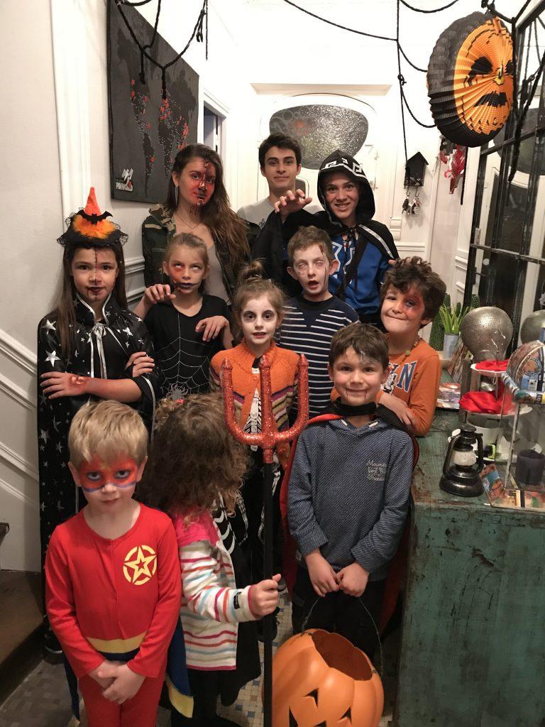 Décoration d'Halloween - déguisement