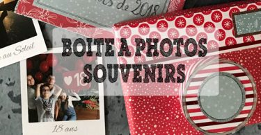 boites à photos DIY