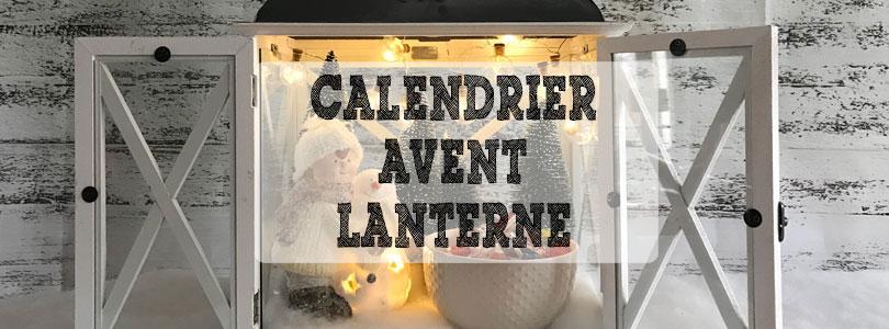 calendrier de l'avent Lanterne
