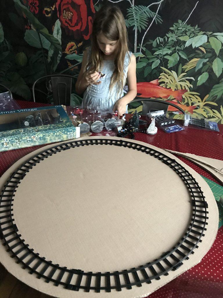 village de Noël facile : fabriquer la base