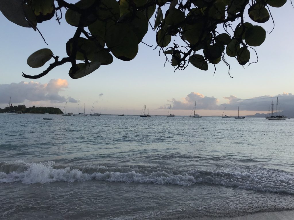 Voyage en Guadeloupe plage du gosier