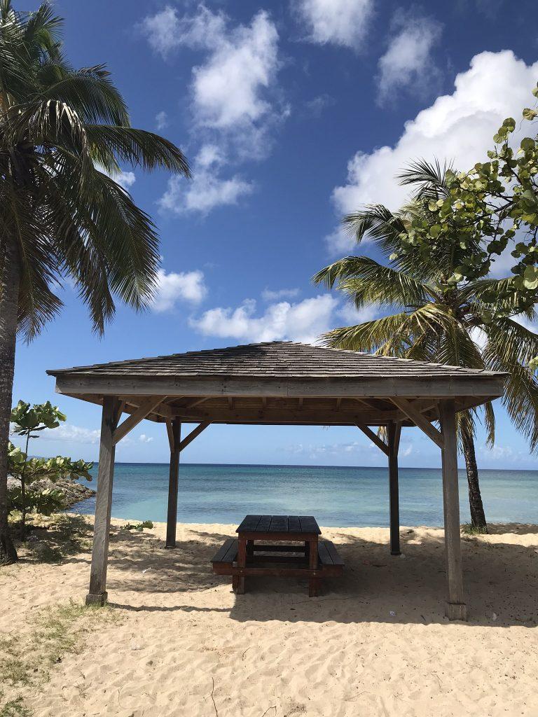 plage de rêve en Guadeloupe, plage du souffleur