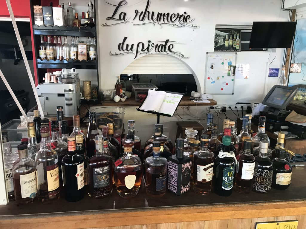 restaurant la rhumerie du pirate en Guadeloupe