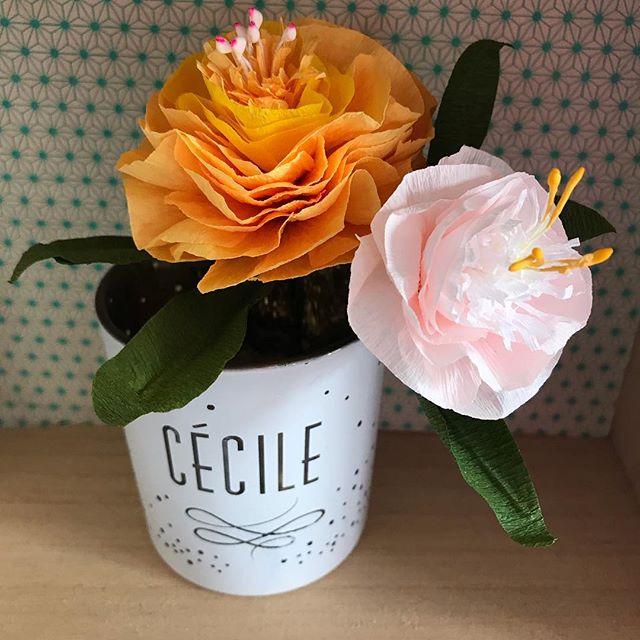 Hier j'ai assisté à un atelier de @makemylemonade pour apprendre à fabriquer des fleurs en papier via la talentueuse @doreminoemi . C'était chouette, très accessible, bon enfant. J'en ai profité pour visiter la fameuse boutique de @lisagachet que j'ai même croisée deux fois, une à l'atelier et l'autre dans la rue. Je n'ai pas eu le courage de lui glisser quelques mots pour lui exprimer mon admiration, sans pathos. Je ne suis pas de ces filles qui s'emballent facilement, mais j'ai clairement du respect pour son parcours, inspirant. Je suppose que tout n'est pas rose et qu'il a fallu tout le courage que je n'ai pas pour arriver à demouler autant de projets. Mais justement, c'est ça qui force mon respect. Le talent, oki, c'est top. Mais la volonté et la capacité à recommencer jusqu'au succès, ça me fait rêver !!! Alors bravo pour tout ça. Et vous ? Vous avez des gens qui vous inspirent ? #papercraft #flowerinpaper #fleurenpapier #paperflorist #wsmakemylemonade