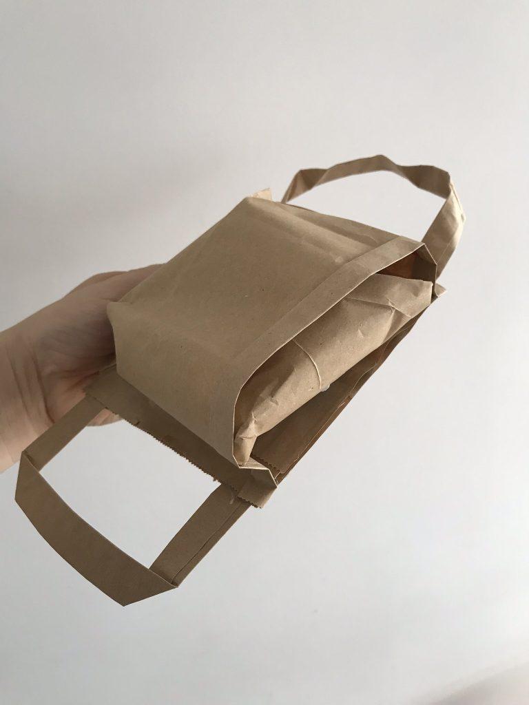 sac-à-dos en papier
