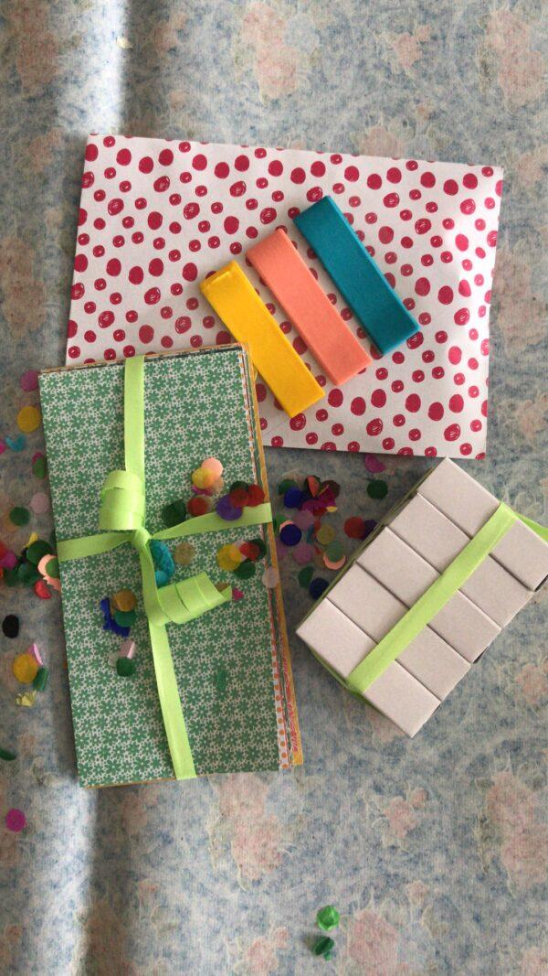 kit créatif pou fabriquer des petites boites à messages