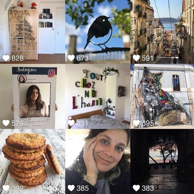 En avril, vous avez aimé l'armoire que j'ai décorée pour ma grande fille, les oiseaux de @metalbirdfrance, mon excursion à Lisbonne, les 17 ans de MaëllePrincesse, le mur olé olé de ma chambre, les cookies suédois dont je parle sur le blog et ma trombine qui se présente aux nouveaux venus sur mon compte. C'est bête, mais j'aime faire ce petit retour en arrière, mois par mois, de vos likes. Ca me dit des choses sur vous. Et puis ça me rassure aussi parfois, sur l'intérêt que vous trouvez à mes publications. Non pas que ça change quoi que ce soit sur ce que je raconte, c'est juste plaisant. Une joie affective primaire. Merci pour tout ça. #cilou2019