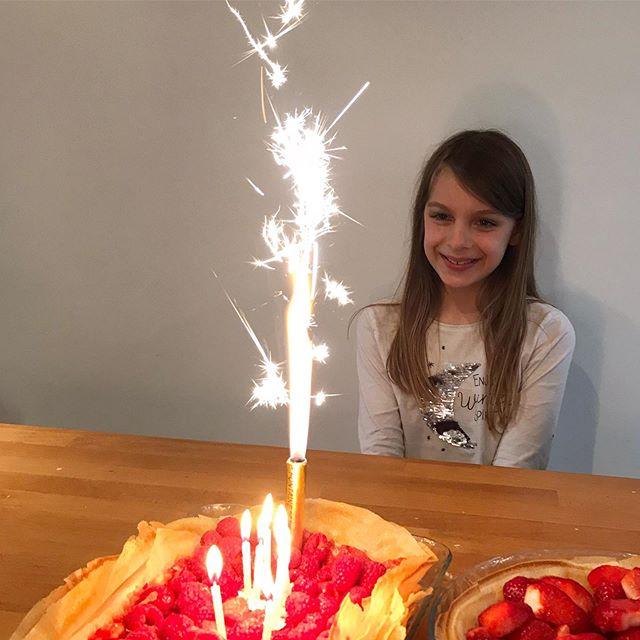 «Je suis tellement contente de mon anniversaire». Ce sont les mots de ma fille, ce matin, quand elle sautait sur mon lit. Je me suis amusée de cette joie durable. Et puis je me suis interrogée sur la mienne. Je sais porter des lunettes roses, je vais voir le joli un peu partout, je prends le temps de célébrer les succès. Mais ma joie n'est pas assez durable. Je passe vite à autre chose. J'aimerai profiter plus longuement de ses bonnes ondes, de ses bienfaits. Vous y arrivez vous ? Quelles sont vos atuces pour faire durer la force de vos joies ?