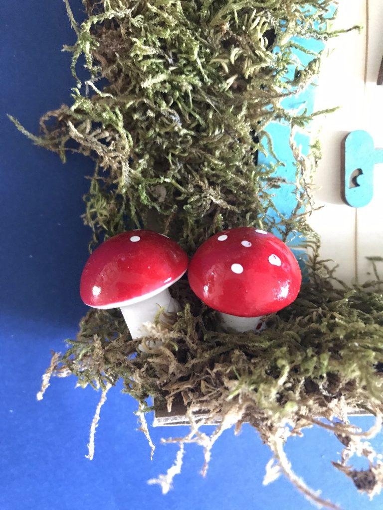 rajouter des champignons décoratifs