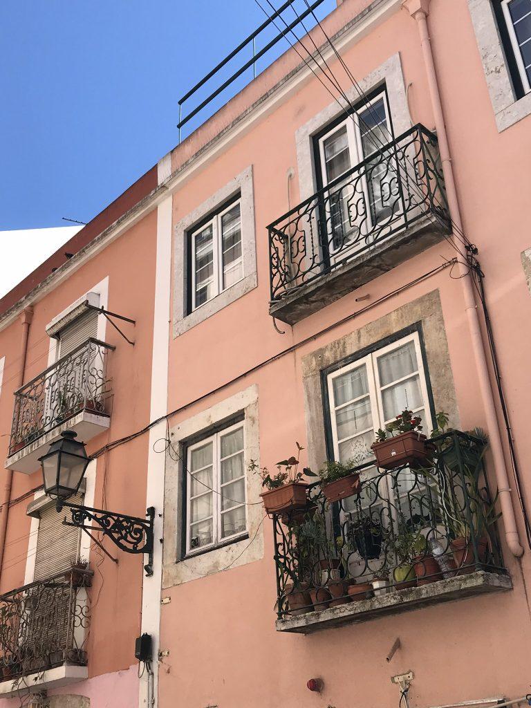 façade de Lisbonne