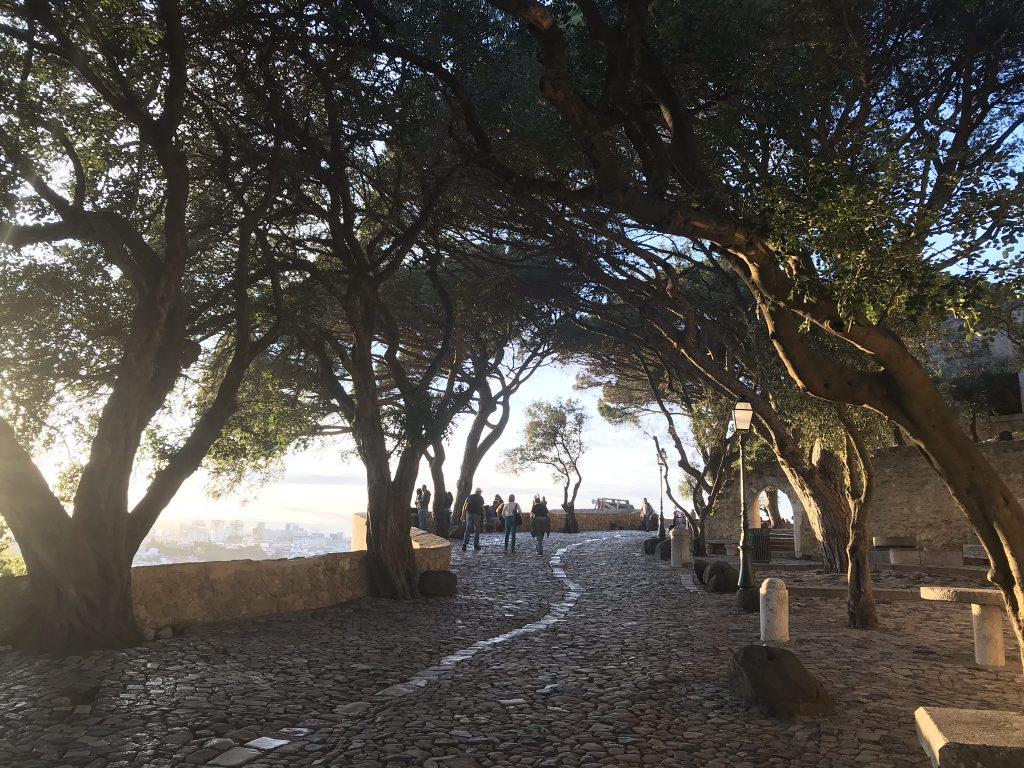 terrasse du chateau saint george lisbonne
