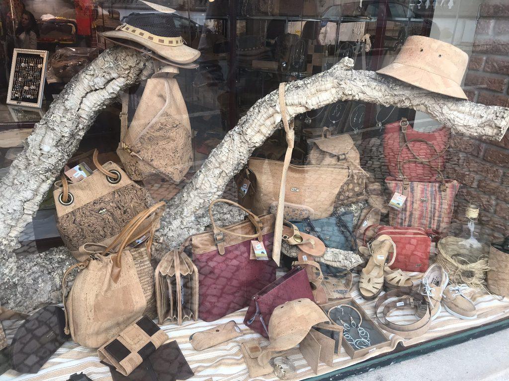 artisanat en liège de Lisbonne